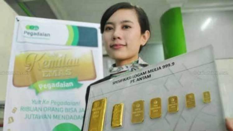 Harga Emas Antam Di Pegadaian Hari Ini Turun Rp 8000 Cuplikcom
